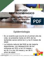 REFLUJO GASTROESOFAGICO PEDIATRIA