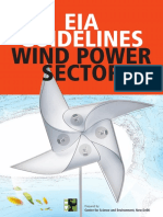 EIA Guidelines Wind Power Sector (1)
