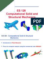 ES128 Intro
