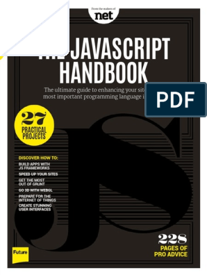 The Javascript Handbook 2015 pdf | Java Script | Computer