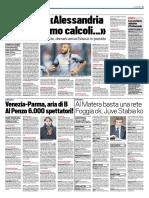 TuttoSport 29-01-2017 - Calcio Lega Pro