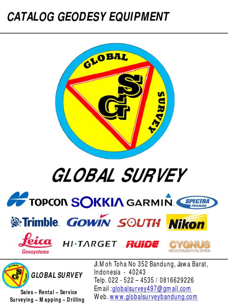 Catalog Fix Total Station Surveying