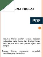 Referat Trauma Thorax