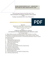 Philippine Foreign Investments Act