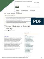 Three Network Model Theory - PolymerFEM - For DMA