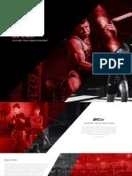 UFC GYM Franchise Brochure 733242287