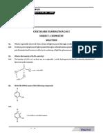 Chemistry 2013 CBSE Paper Soltuion