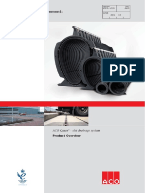 Aco Qmax Overview Pdf Drainage Road Surface