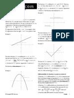 Maths Methods Calculus Notes