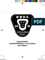 Pasaporte Chino Usera 2016