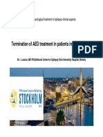Termination of AED Treatment in Patients in Remission