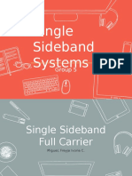 Single Sideband Systems