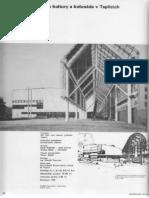 Dům kultury a kolonáda v Teplicích, Architektura ČSR, 1988, č.3