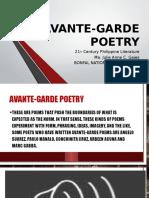 Avante Garde Poetry