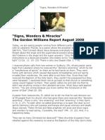 Signs, Wonders &  Miracles
