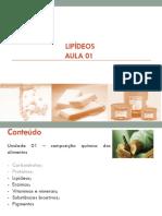 Disciplina Bioquc3admica Lipc3addeos Aula 01