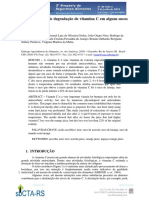 Estudo Taxa de Degradac3a7c3a3o Da Vitamina c Embrapa