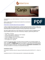 Canjo Embertone Manual