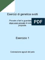 Esercizi Di Genetica