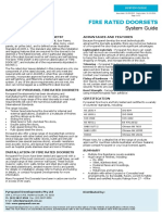 Fire Doors-All Tech Sheets