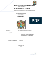 Informe 3 de Mecanica de Fluidos(Cuba Reynolds