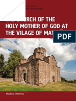 The Church of the Holy Mother of God at the Village of Matejche - Elizabeta Dimitrova