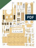 Panzer IV D  paper model tank