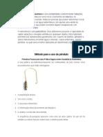 Metodo Para Uso de Pendulos