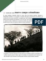 1 Acuerdo Para Terminar La Guerra Campo