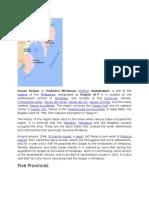 Davao Region or Southern Mindanao