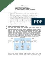 Bab 6 Sistem Perencanaan Sumber Daya Perusahaan