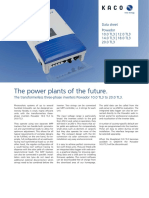 Carte Tehnica - Invertoare Fotovoltaice Powador 20 0 TL 3 Cu Un Design Compact