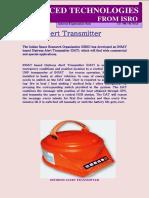 Distress Alert Transmitter