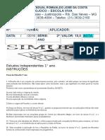 PROVA FILO 1° ANO.doc
