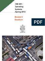 9 Deadlock Study on Operating Systems অপারেটিং সিস্টেম