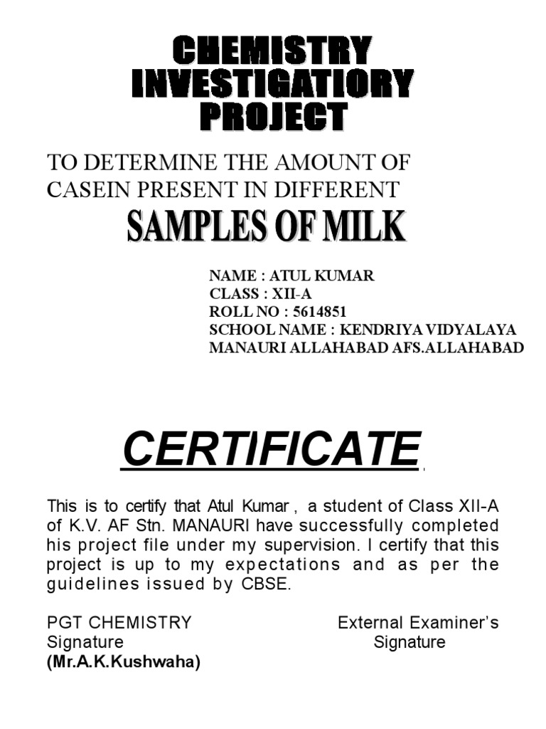 11553873 cbse class xii chemistry investigation project work milk 11553873 cbse class xii chemistry investigation project work milk filtration yadclub Choice Image