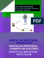 Masuri de protectie a pacientului si personalul medical in medicina dentara
