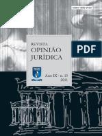 Revista Opiniao Juridica 13 Edt - Artigo Odisseia