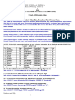 Board Questions and Answers Q No 5 of 7 SQL Worksheets With Answers