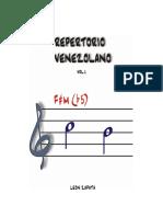 Repertorio Venezolano Vol. 1 - León Zapata