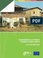 Vulnerabilidad de Las Viviendas de Bambú Al Cambio Climático en La Costa Del Ecuador