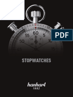 Hanhart Stopwatches Catalogue