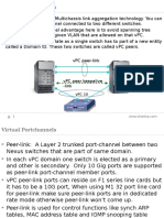 vPC Notes