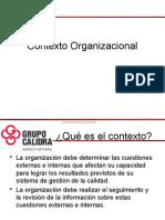 Contexto Organizacional