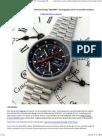 Manning, W. A. - Orfina Porsche-Design Chrono