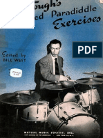 Dave Tough Advanced Paradiddle Exercises