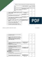 Criterios y Puntuacion Para Inspeccion Higienico Sanitaria de Almacenes de Alim. y Bebidas