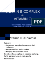 Vitamin b Complex & Vitamin c