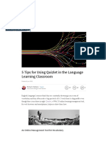 5 Tips for Using Quizlet in the Language Learning Classroom _ Michael J Shehane _ Pulse _ LinkedIn