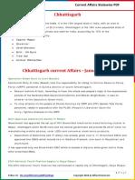 Chattisgarh Current Affairs 2016(Jan-Mar) by AffairsCloud